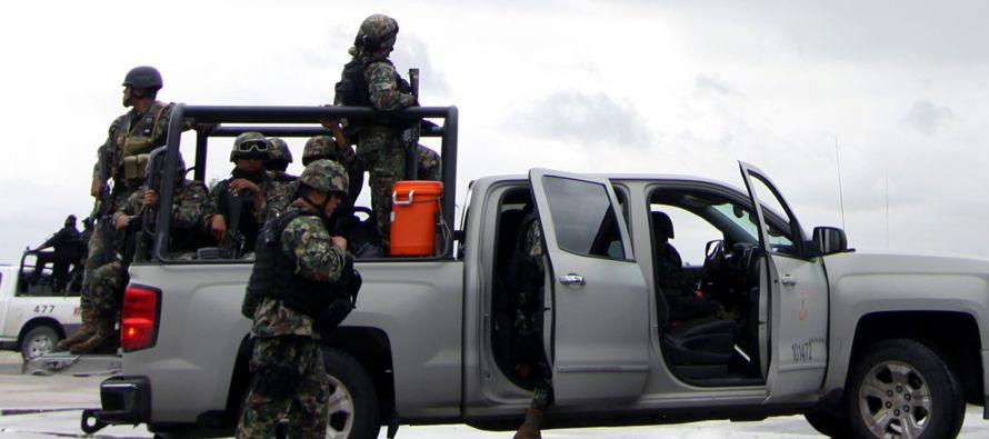 Al menos ocho muertos y dos detenidos es el saldo de una serie de enfrentamientos ocurridos hoy en...