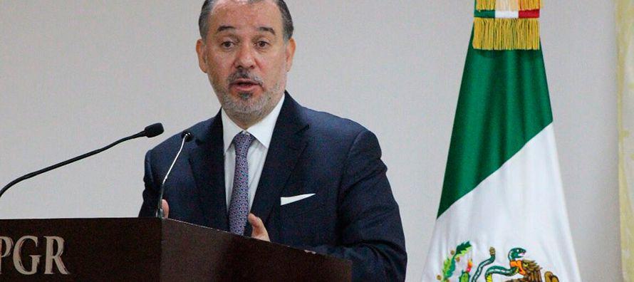 El pasado 27 de octubre, Cervantes Andrade fue nombrado procurador, y semanas previas a su...