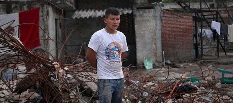 Casi 40 edificios se vinieron abajo en Ciudad de México con el terremoto y más de...