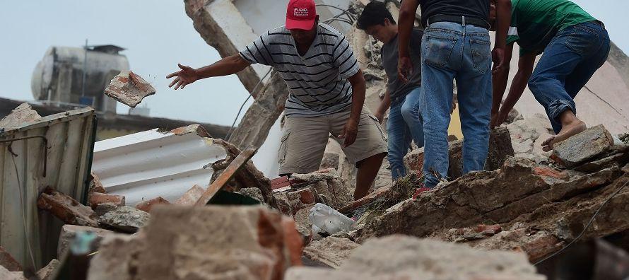 Los terremotos del 7 y 19 de septiembre pasado (de 8,2 y 7,1 grados en la escala de Richter,...