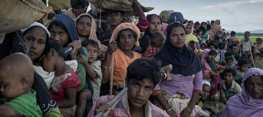 """Los jefes del Ejército birmano son """"responsables"""" de la crisis de la..."""
