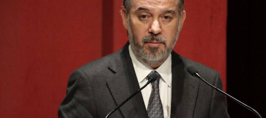 Cervantes es el tercer director que abandona la PGR durante el sexenio de Enrique Peña...