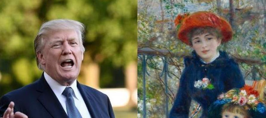 Un museo estadounidense está poniendo en duda la afirmación del presidente Donald...