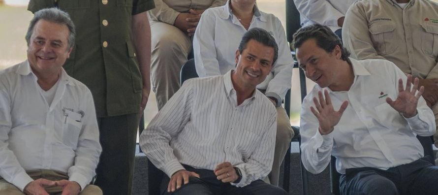 """""""Acompañamos de tiempo completo toda la campaña del PRI, del partido PRI, y del..."""