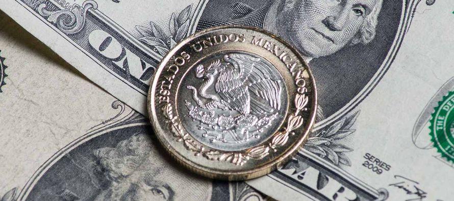 La moneda cotizaba en 19.160 por dólar a las 2030 GMT, con una ganancia del 0.26 por ciento...