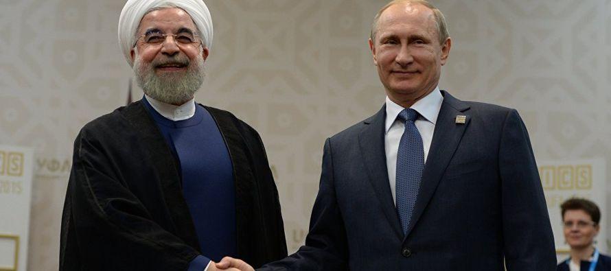 Irán y Rusia son los principales aliados del presidente sirio, Bashar al-Assad, mientras que...