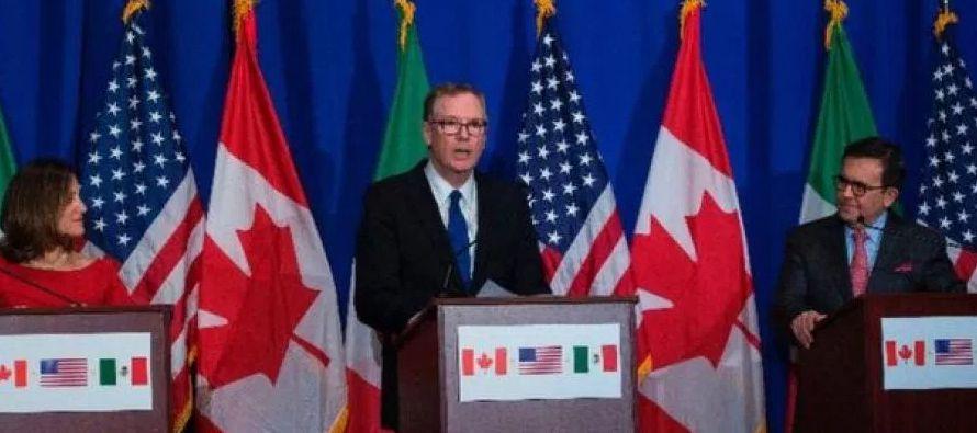 Previo a la quinta ronda de negociaciones del TLCAN a realizarse a mediados de noviembre en la...