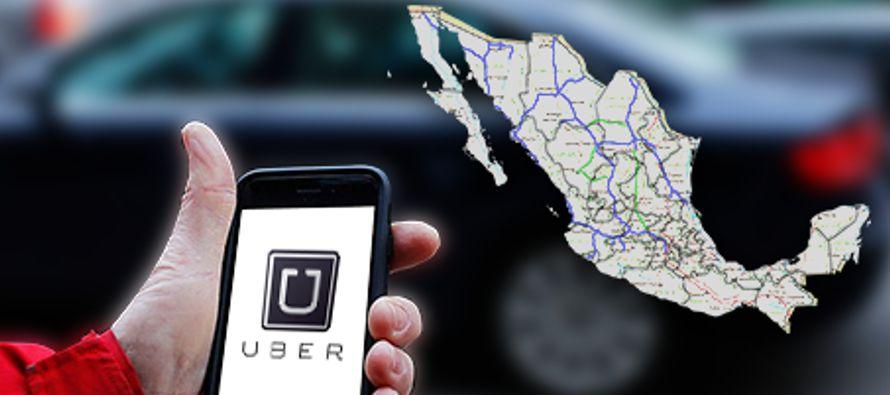 Uber inició el lunes operaciones en seis nuevas localidades del norte de México, con...