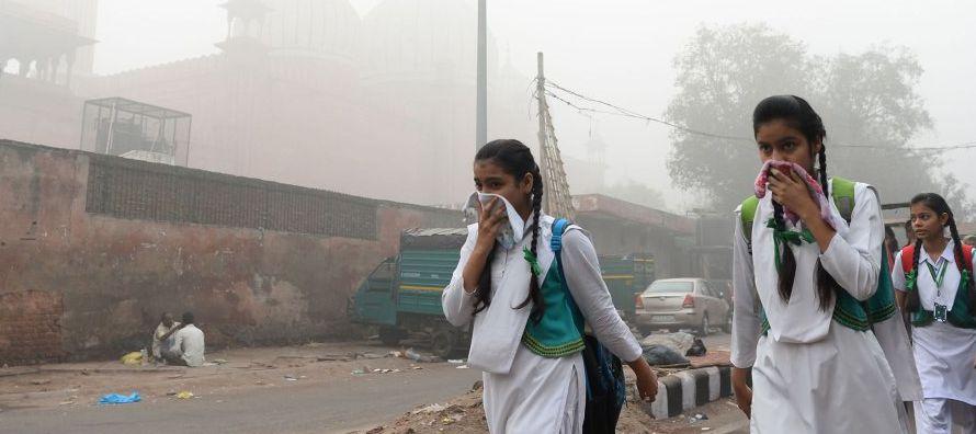 Las medidas contra la contaminación adoptadas por el gobierno del estado de Delhi en los...