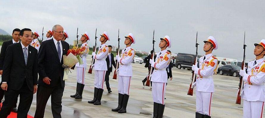 El APEC está formado por Australia, Brunei, Canadá, Chile, China, Corea del Sur,...