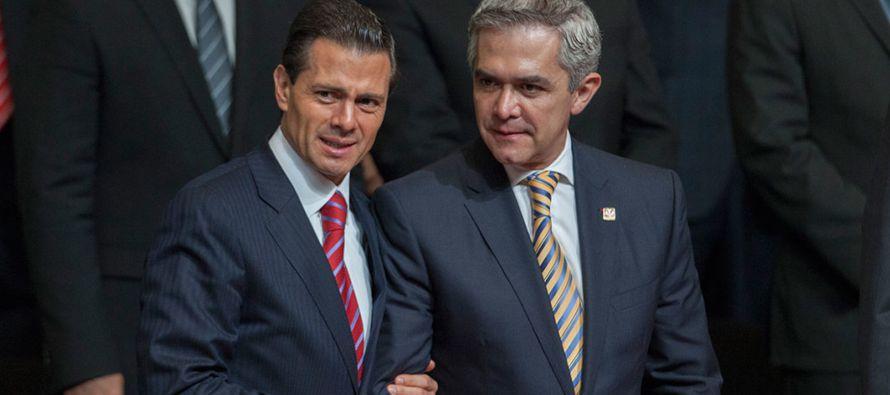 El problema que enfrentan es el activismo del gobierno de Miguel Ángel Mancera, el...