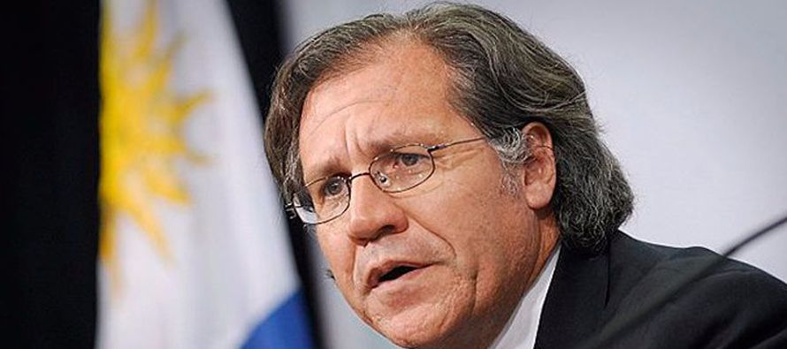 El secretario general de la Organización de los Estados Americanos, Luis Almagro,...