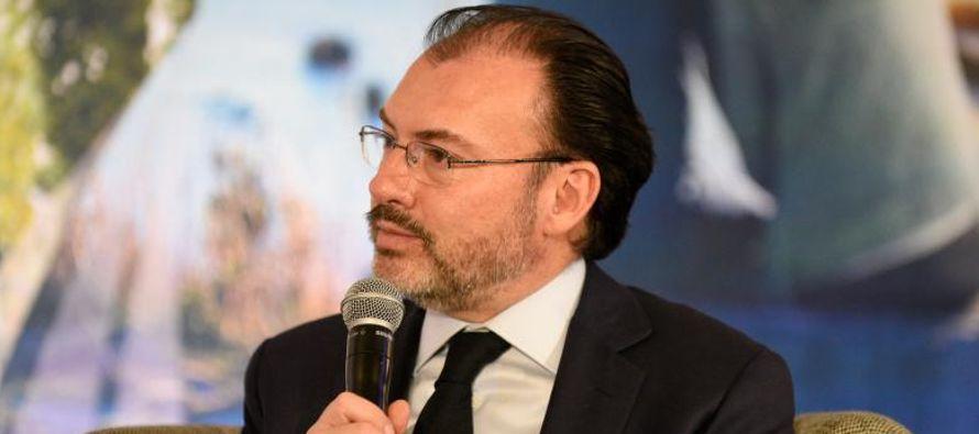 """No obstante, expresó que México espera llegar en una """"fecha próxima""""..."""