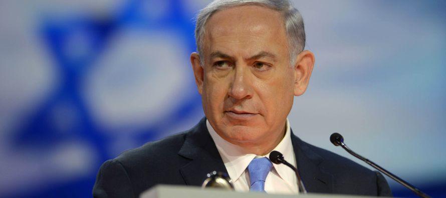 El primer ministro de Israel, Benjamín Netanyahu, agradeció hoy a México que...