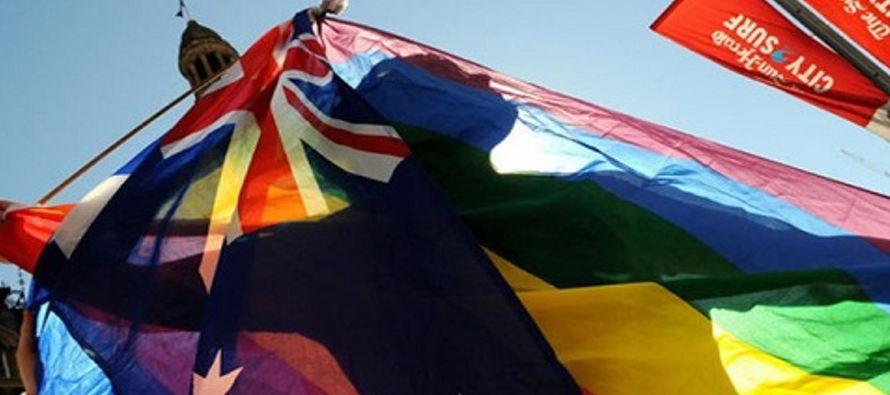 Australia avanzó hacia la legalización de los matrimonios entre personas del mismo...