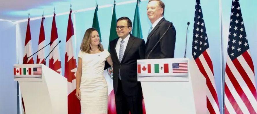 Guajardo agregó que si las negociaciones del TLCAN, que actualmente están en su...
