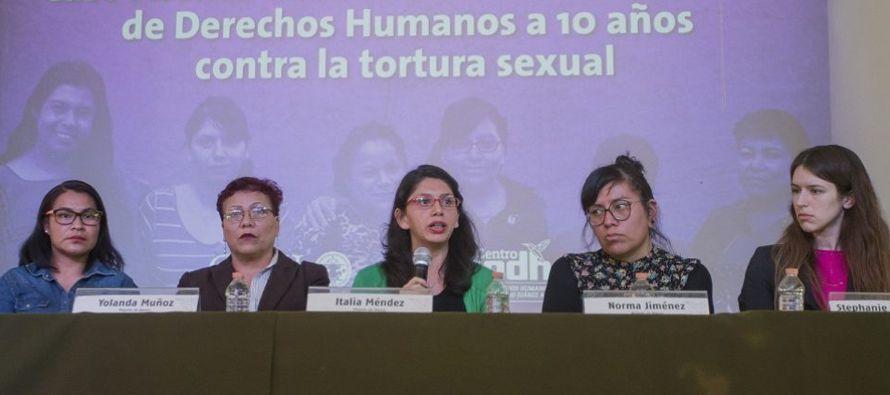 """Norma Jiménez Osorio solicitó al estado mexicano """"el pago de los culpables,..."""