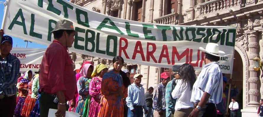 El sur de los territorios de los rarámuri pertenece a lo que se denomina el Triángulo...