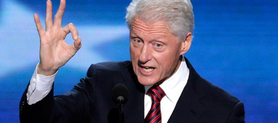 Bien sabido es que Clinton causó revuelo con el escándalo de su relación...