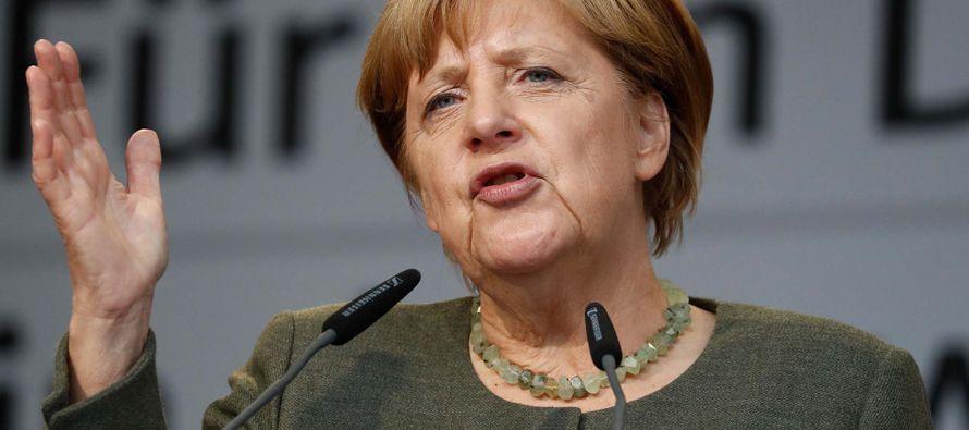 Merkel muestra disposición a nuevas elecciones tras colapso de negociaciones