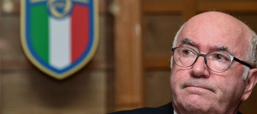 Renuncia jefe de federación italiana tras fracaso en eliminatoria rumbo al Mundial