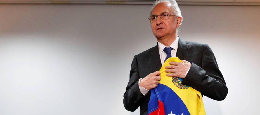 El exilio en España del alcalde de Caracas, Antonio Ledezma, es una buena prueba de la...