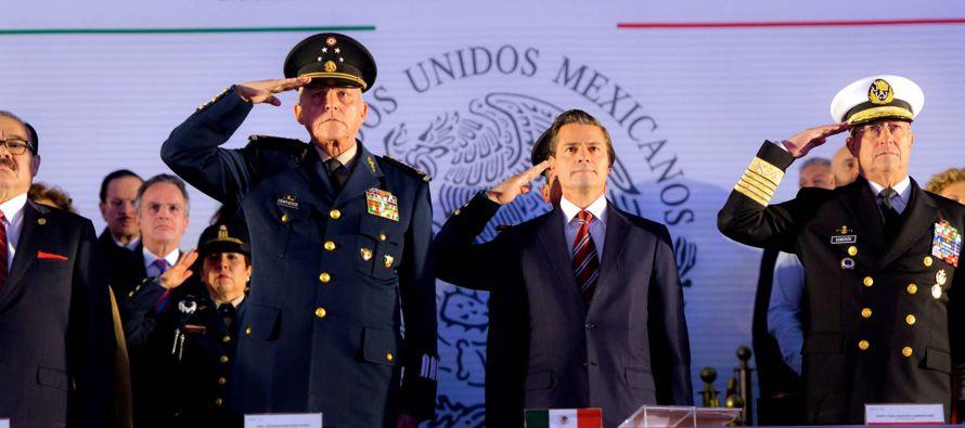 El Ejército mexicano solicitó nuevamente ayuda a las instituciones. El secretario de...