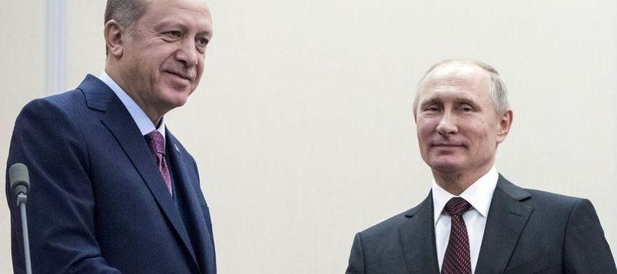 Dos días después de recibir la visita de Assad en el balneario de Sochi, en el Mar...