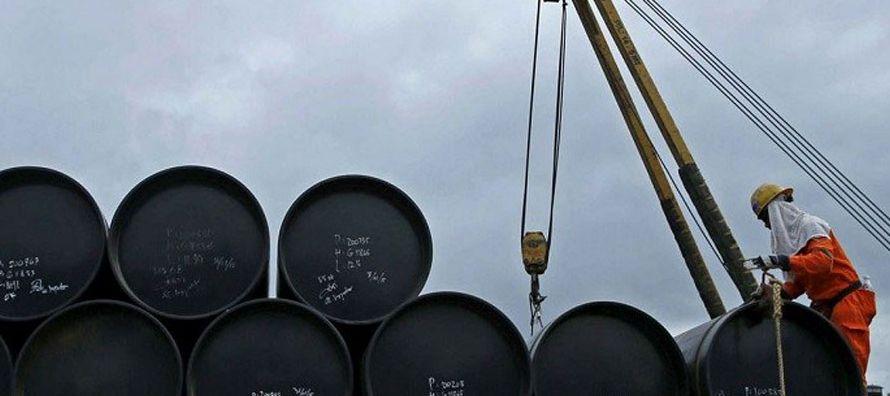 Pese a la caída en la producción las exportaciones de petróleo crudo...