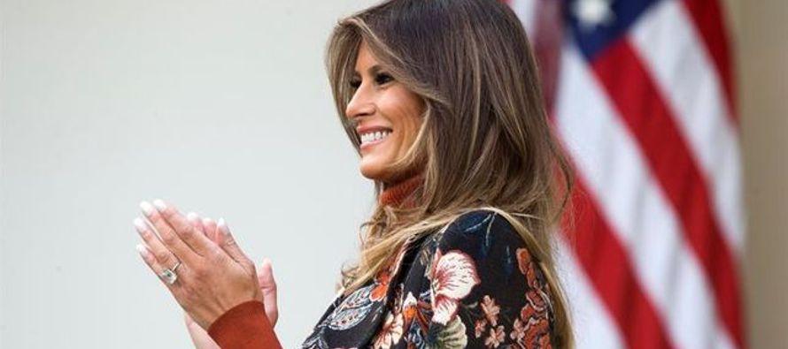 No obstante, Melania ha sido menos activa en el cargo que sus predecesoras, Michelle Obama y Laura...