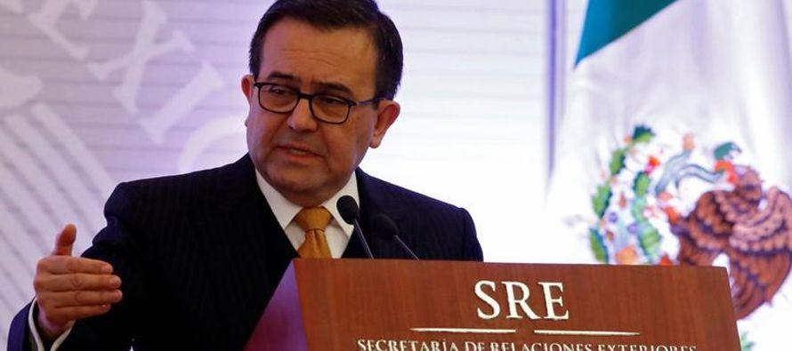 Las conversaciones siguen una ronda en México que se hizo este mes donde las tres partes no...