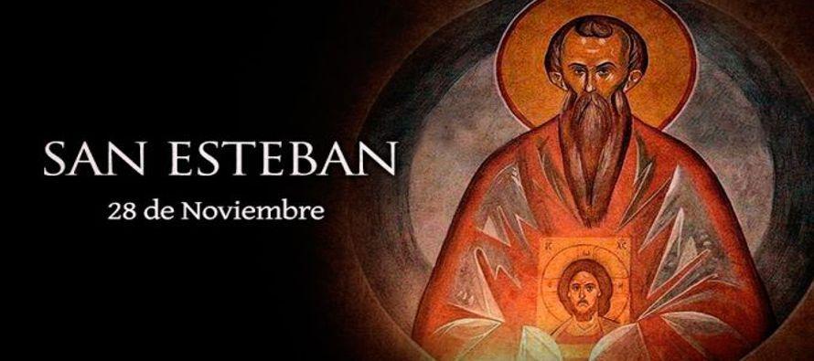 Cuando murió el Egúmeno (Abad) Juan, Esteban fue elegido para sucederle. El...