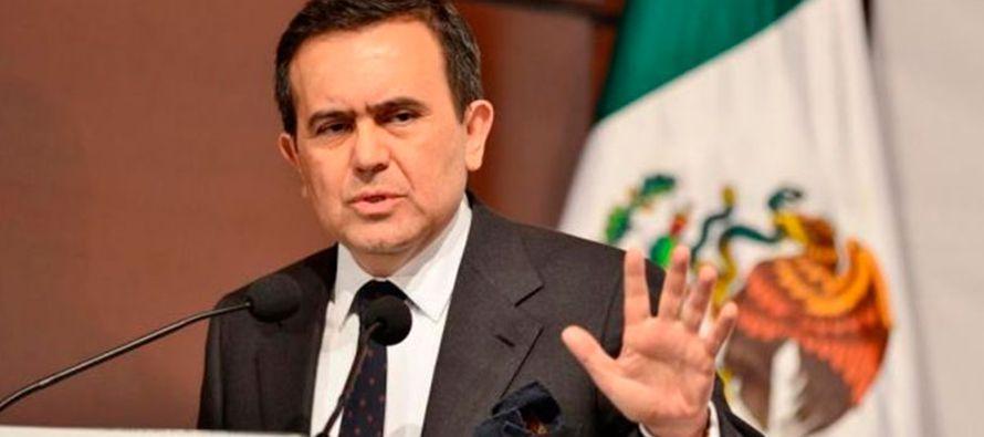 El funcionario agregó que en su momento México haría una contrapropuesta sobre...