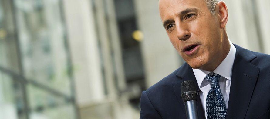 En su comunicado, el presentador de la NBC dice que parte de lo que se ha dicho contra él en...