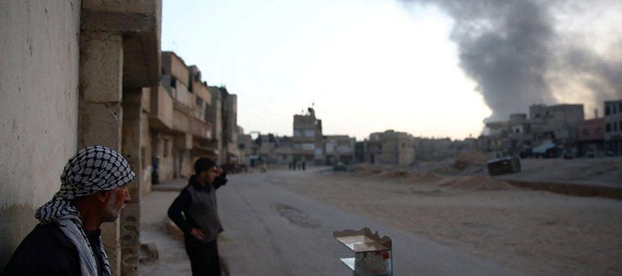 La región de Guta Oriental, en las afueras de Damasco, es el principal bastión de la...