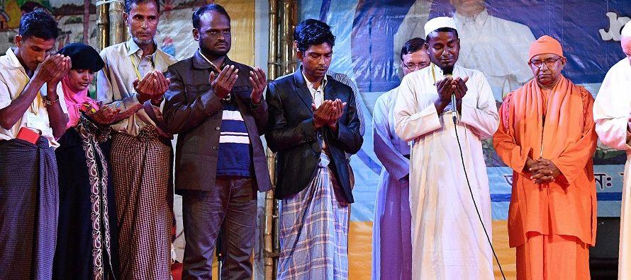 El obispo de Chittagon, Moses M. Costa, confirmó a algunos medios durante la misa de la...