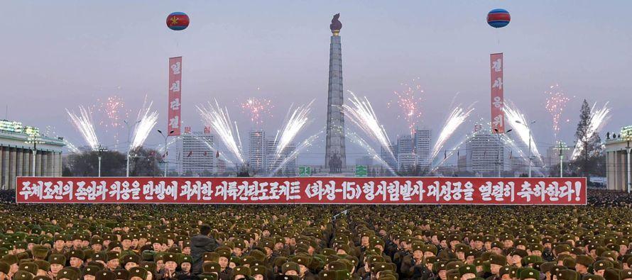 Si Kim Jong-un llegara a ordenar el lanzamiento de un misil balístico que incluyera una...