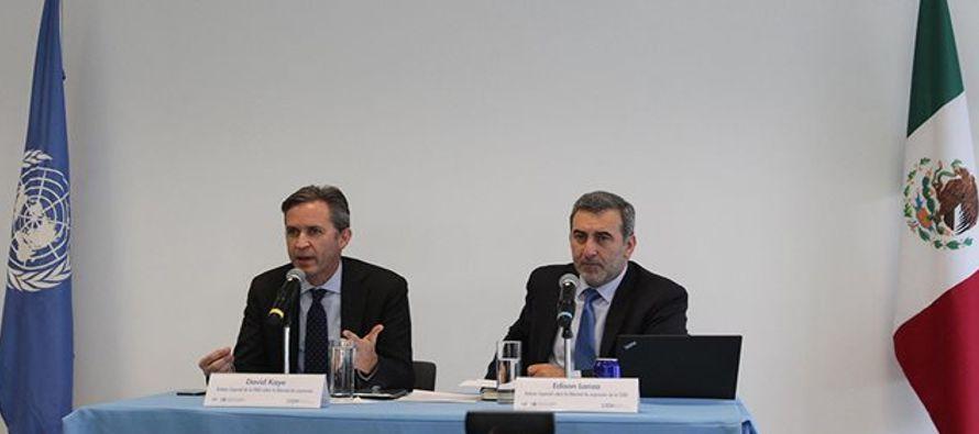 Estas son las conclusiones preliminares a las que llegó el equipo de la ONU y de la CIDH...