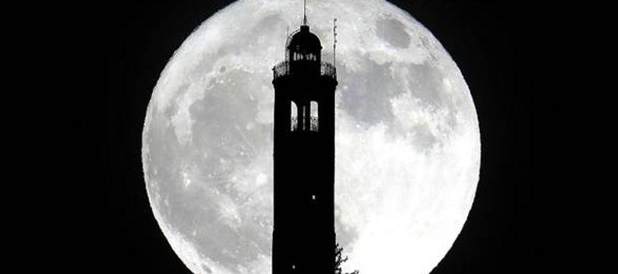 """""""El espectáculo de la Luna llena, todavía más que la de la..."""