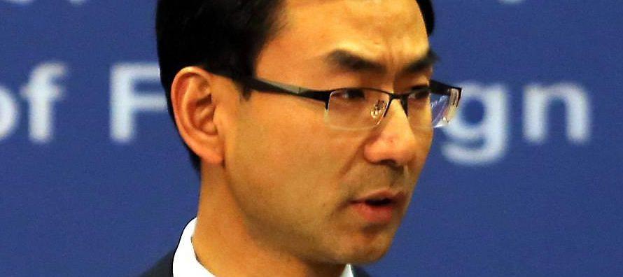 """""""China no influye en los temas internos de Australia, por lo que pedimos otra vez que..."""