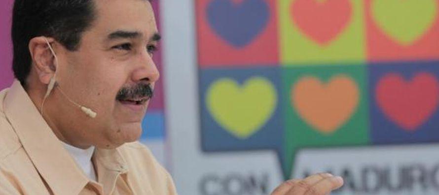 """""""Nos incorporamos al mundo del siglo XXI"""", aseguró Nicolás Maduro, quien..."""