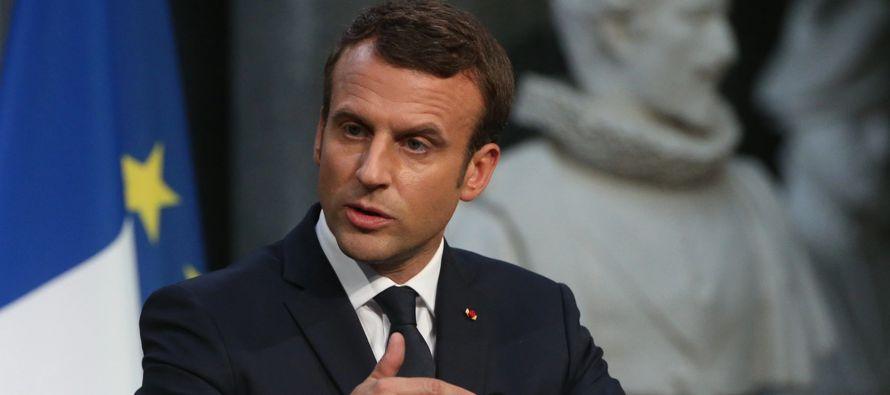 Macron, que realiza una visita oficial a Argel, dijo a la prensa que el paso más importante...