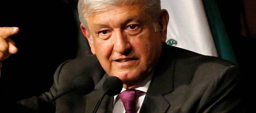 López Obrador no detalló su propuesta de amnistía; lo estoy analizando, dijo,...