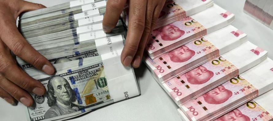 Es la primera vez que las reservas de China ascienden por 10 meses consecutivos desde junio del...