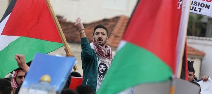 El Plan de Partición de la ONU de 1947 dividía la Palestina histórica en un...