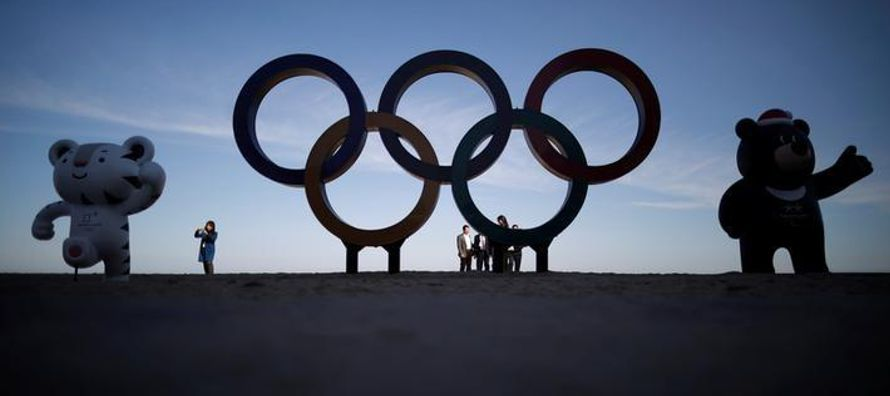 Los Juegos de Pyeongchang que se realizarán en febrero podrían ser los...