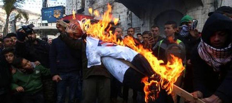 El llamado de Hamas se produce en medio de una convocatoria a una huelga general que se cumple hoy...