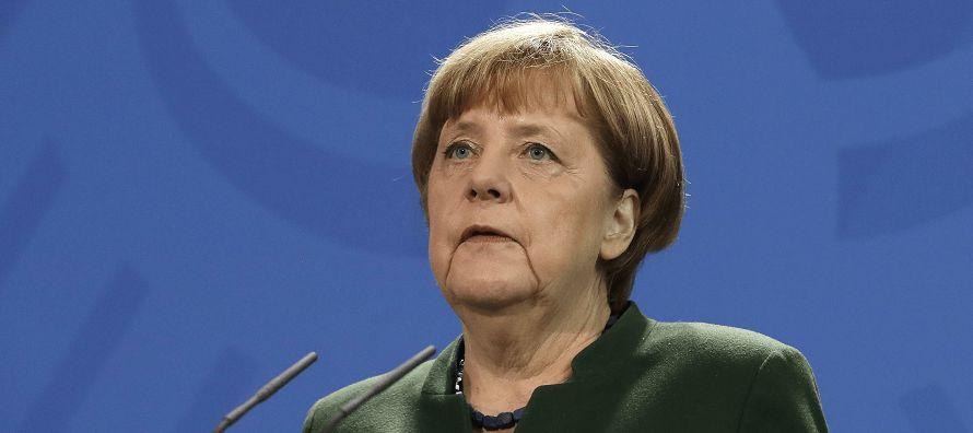 La canciller Angela Merkel dijo el jueves que Alemania se atendría a las resoluciones de...