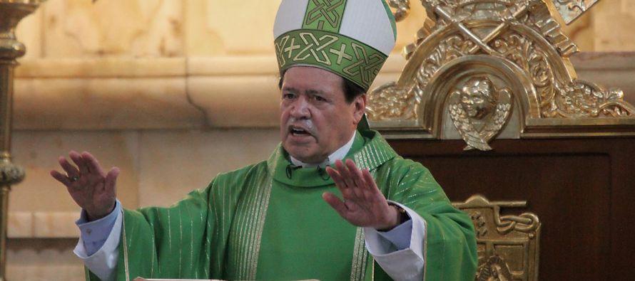 El máximo jerarca del catolicismo nombró hoy al cardenal Carlos Aguiar Retes...