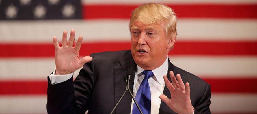 La portavoz se puso a sí misma como ejemplo del supuesto buen comportamiento de Trump hacia...